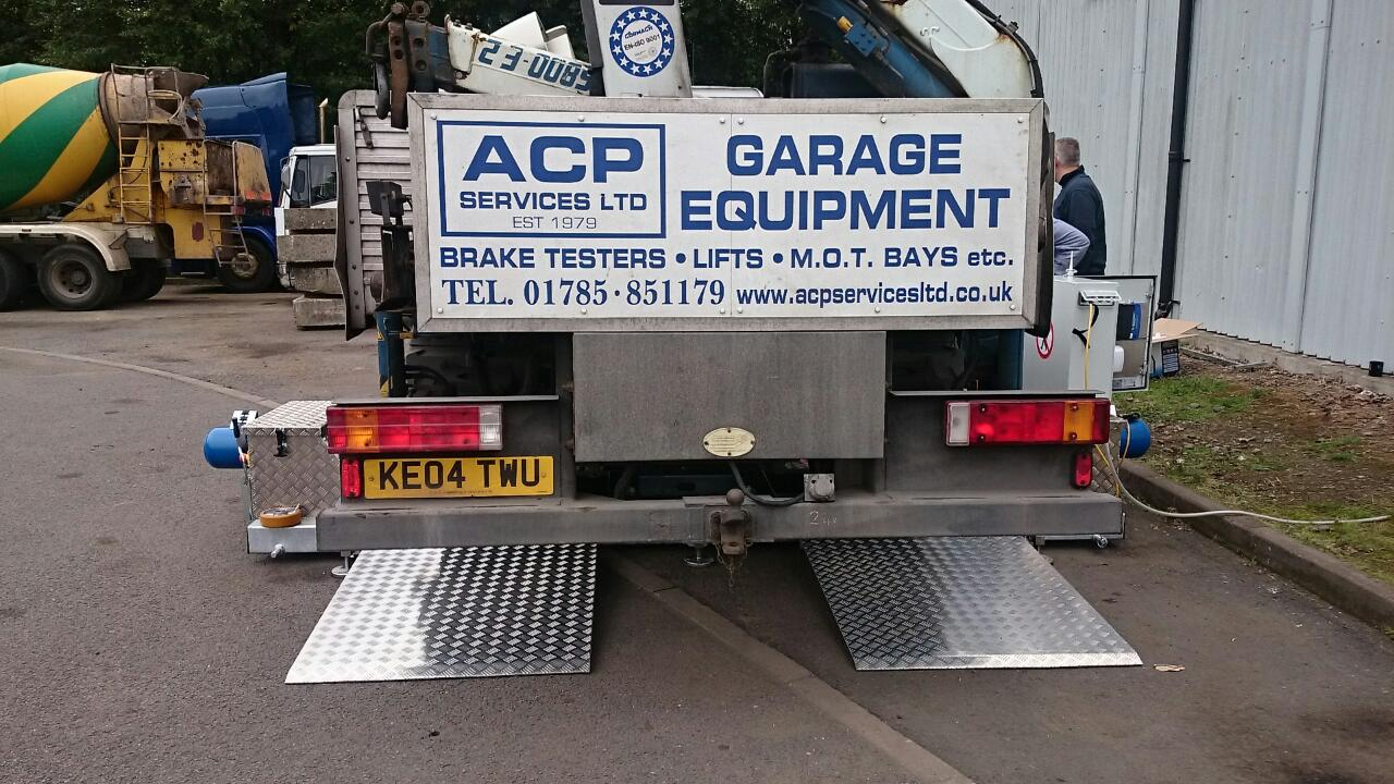 mobile commercial brake tester BM20200